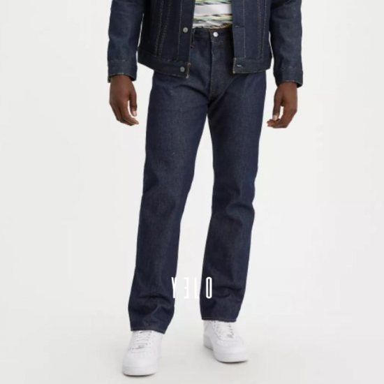 JEANS 501 Levis OSCURO